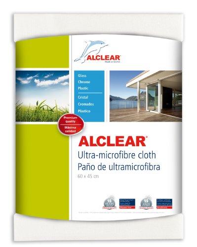 """ALCLEAR 950002 Ultra-Microfaser Fenstertuch Scheibentuch 60x45 cm weiß (bekannt als """"Das Wundertuch"""")"""