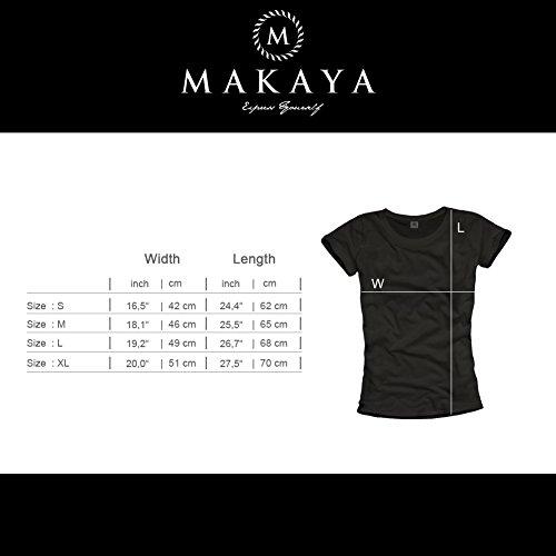 Musik T-Shirt mit Aufdruck KASSETTE schwarz Damen Größe S - 3