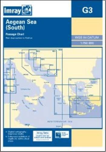 Imray Chart G3: Aegean Sea (South) (Charts Imray)