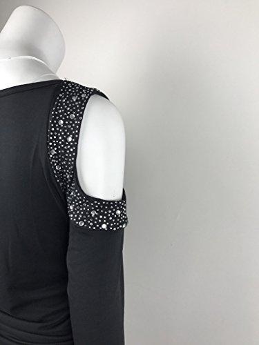 COMVIP -  Maglia a manica lunga  - Basic - Maniche lunghe  - Donna Black