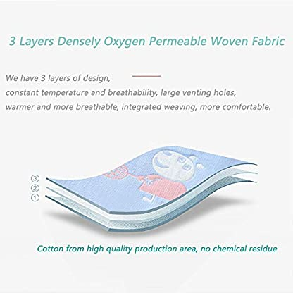 Saco de Dormir del Verano del Bebé,Saco de Dormir para Bebé Ajustable para Recién Nacidos Altura 80-100cm 1-3 Años Bebé