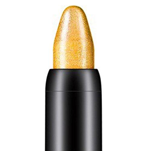 Internet 1PC Crayon fard à paupières de professionnelle de la beauté surligneur (Or)