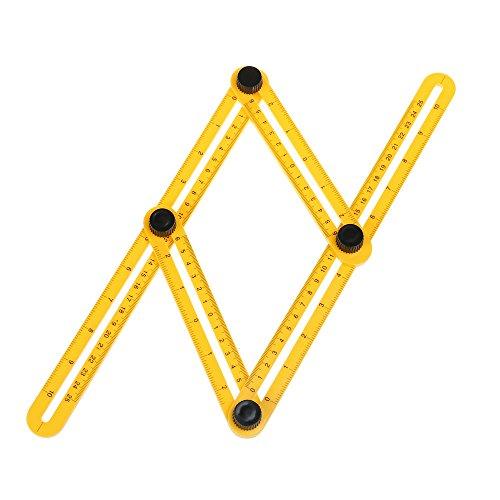 Multi Winkel Messung Tools, angleizer Vorlage Lineal Breite Messung Layout-Tools für Schreiner und Bauunternehmer Aufhängen Fliesen, Bodenbeläge verlegen, Schneiden Stein