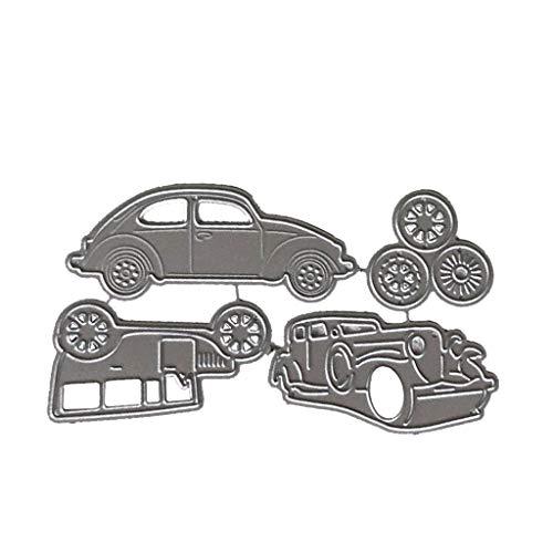 WuLi77 ❤ 1 Set CarMetal Stanzformen für Kartenherstellung, Prägeschablone für Scrapbooking, DIY Album, Papier, Karten, Kunst, Dekoration