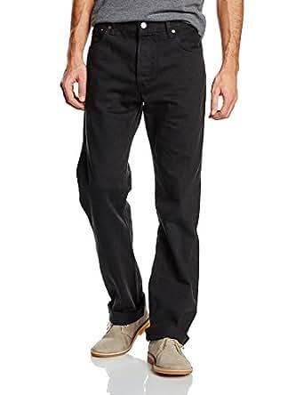 Levi's Homme 501 Original Straight Fit Jeans - Noir (Black) - W29/L34 (Taille Fabricant : W29/L34)