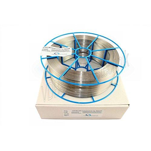 Schweißdraht MAG Edelstahl 1.4430-0,8 mm Spule - K300-4430 V4A - 15,0 Kg