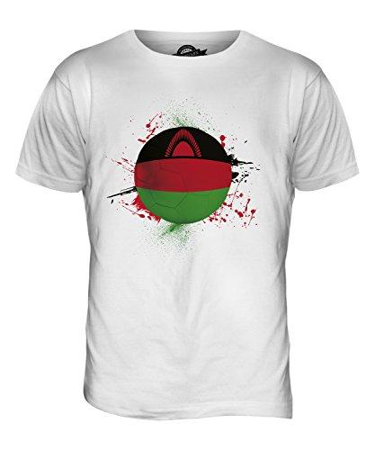 CandyMix Malawi Fußball Herren T Shirt Weiß