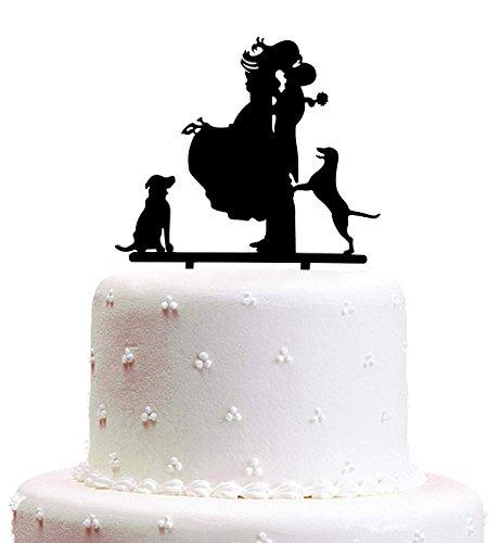 Decoración para tarta de boda con texto en inglés