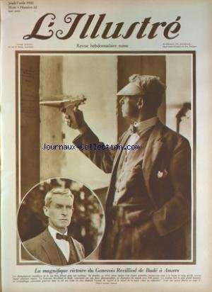 ILLUSTRE SUISSE (L') [No 32] du 07/08/1930