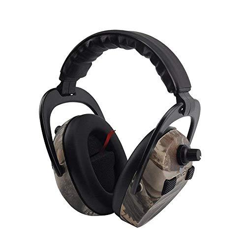 Elektronischer Gehörschutz für Jagd und Schießen, Protear Professioneller Gehörschutz mit Rauschverstärkung und -reduzierung - NRR 23 dB -