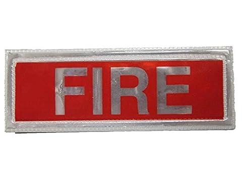 Red Fire réfléchissant badge Petite Livraison gratuite