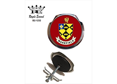 Preisvergleich Produktbild Royale Emaille Royale Car Grill Badge – Wakefield Wappen B2. 1232