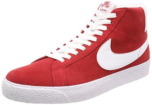 Nike SB Blazer Zoom Mid University Red/White 11UK