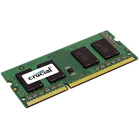 Crucial - Memoria RAM de 4 GB (DDR3L, 1600 MHz)