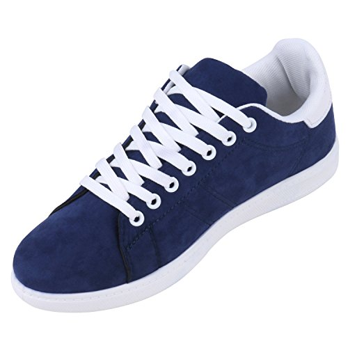Japado , Sneakers Basses femme Bleu - Blau Weiss
