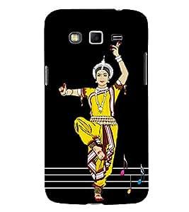 PrintVisa Kathkali Dance Dancing 3D Hard Polycarbonate Designer Back Case Cover for Samsung Galaxy Grand Neo :: Samsung Galaxy Grand Lite