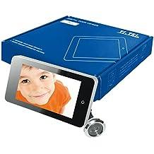 Telese Digital mirilla de puerta–Pack de 1, Plata, e0378–12