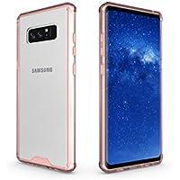 Stoßfest Hülle für Samsung Galaxy Note 8,Artfeel Samsung Galaxy Note 8 Handyhülle Hybrid Weich Silikon TPU Rahmen... preisvergleich bei billige-tabletten.eu