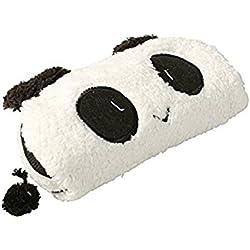 Kanggest Creativo Panda Caja lápiz de felpa para Niñas Fuentes de Escuela de Oficina Bolso Cosmético Bolso del Almacenaje