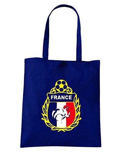 T-Shirtshock - Borsa Shopping WC0050 FRANCIA FRANCE Blu Navy