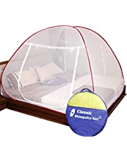 Classic Mosquito Net Foldable King Size Double Bed with Sav