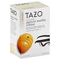 Tazo Vanilla Apricot White Tea, 20-Count Tea Bags (Pack of 6)