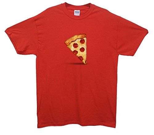 Pizza Emoji T-Shirt Rot