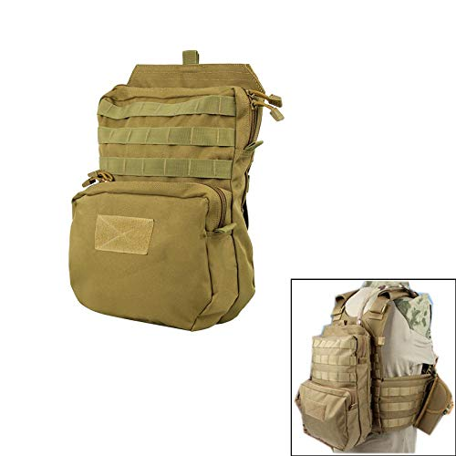 BAPDSB Tactical 3L Water Pack Bag Outdoor Military Vest Hydration Molle Backpack Borsa da Trekking in Bicicletta