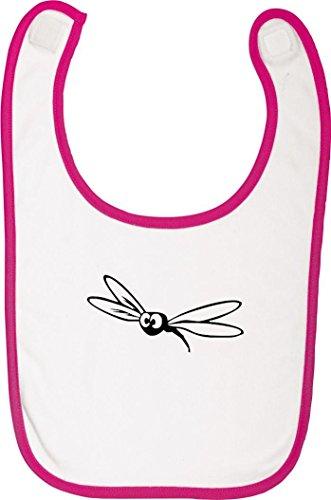 shirtstown-babylatz-tiere-fliege-mucke-farbe-rosa