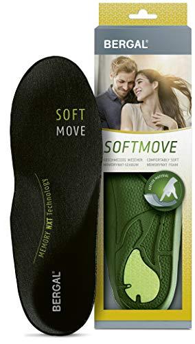 Bergal Soft Move Einlegesohlen, Größe 38/39 EU