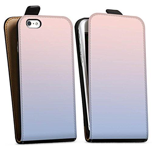 Apple iPhone X Silikon Hülle Case Schutzhülle Pastell Farben Frühling Downflip Tasche schwarz