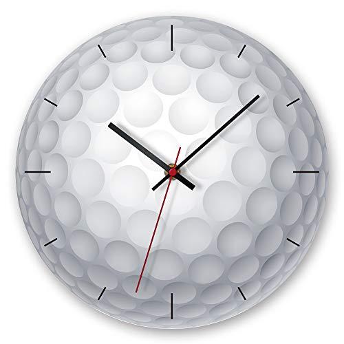 LYJZH Wanduhr Moderne Clock Uhr Mode einfache Wohnzimmer Küche Restaurant Schlafzimmer Wanduhr Kreative Wanduhr Ball Acryl 1 12 Zoll