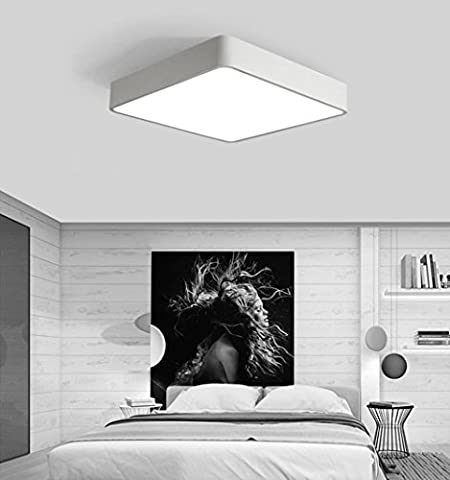 Modern Design Room Ceiling Lamp Table Living Room Ceiling Light Bedroom Lamp geometry Minimalistic Iron Acrylic Restaurant Warm Lamp LED Ceiling Spotlight 36W White 60x