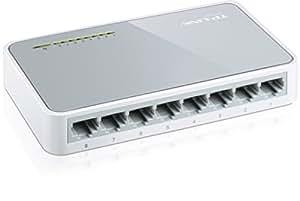 TP-Link TL-SF1008D Desktop Switch 8x 10/100MBit/s RJ45 ports