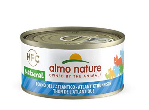 Almo Nature HFC Natural Katzenfutter - Atlantikthunfisch 24x70 g