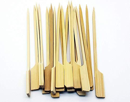Home-source-bambus (We Can Source It Ltd Bambus Gun Form Paddel Spieße - Umweltfreundliche 100% Biologisch Abbaubar Kompostierbar Recyclebar für Party, BBQ Buffett: 4.7inch/12cm - 1000er Pack)