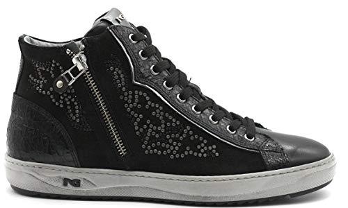 6d83d6c93 Nero Giardini Donna Sneakers A806471D Nero Scarpe in Pelle Autunno Inverno  2019, EU 37