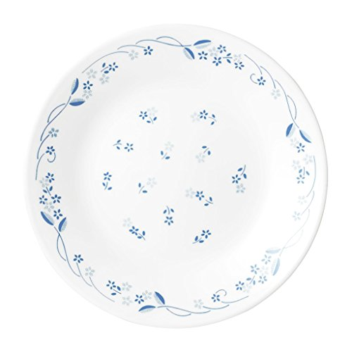 Corelle Livingware Provincial Blue Medium Plate Set, 21.6cm, Set of 6