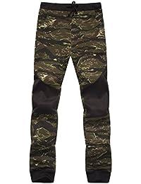 b6b54a1f719c9 Pantalons de Survêtement, Malloom Homme Printemps Pantalon de Jogging  Casual Camouflage