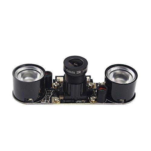 Longruner Camera Module for Raspberry Pi 3 Model B B+ A+ 2 1