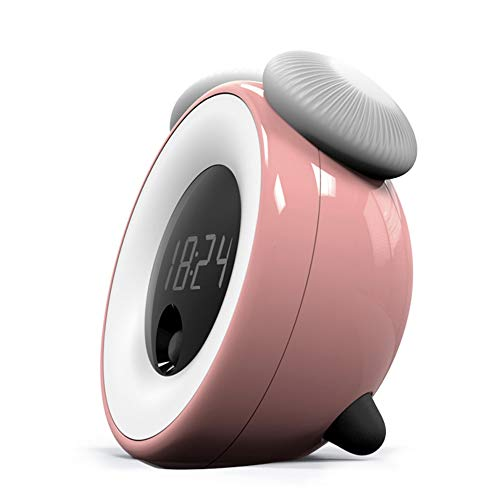 USB LED Wake Up Light Reloj Despertador Digital Lámpara