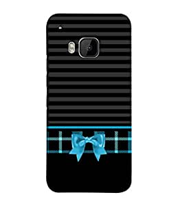 Fuson Designer Back Case Cover for HTC One M9 :: HTC One M9S :: HTC M9 (Love heart Girl Valentine Three Hearts)