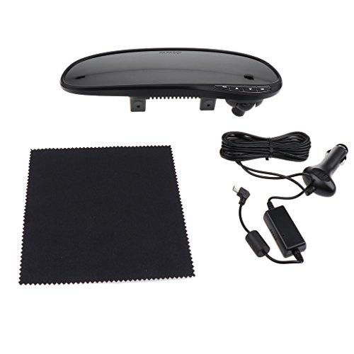 Preisvergleich Produktbild Sharplace Rückfahrkamera mit Rückspiegel DashCam,G-Sensor,Bewegungserkennung,Parkmonitor für meistens Autos