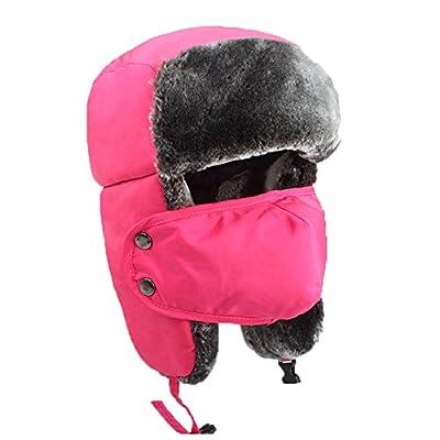 Tofern Unisex Skimütze Wintermütze Russenmütze Wasserdicht Plüsch Earflap Fallensteller Im Freien Sport Mütze von Tofern - Outdoor Shop
