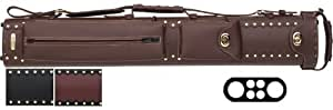2 Butt and 4 Shaft Cowboy Pool Cue Cases Color: Mix by InStroke
