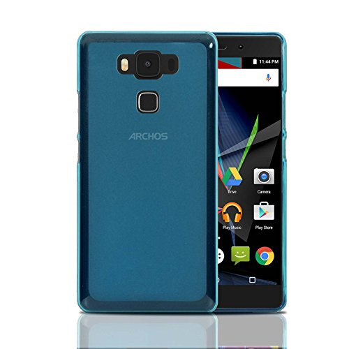 Archos Diamond 2 Plus Hülle, Ordica DE®, Diamond 2 Plus Case Gel Design Original Blue Zubehör TPU Silikon Dünn Cover