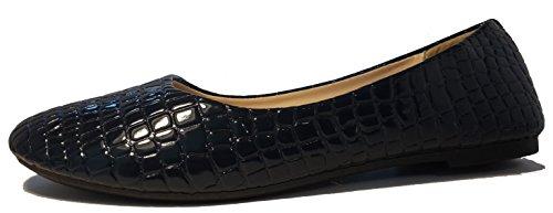 3-W-Hohenlimburg Chaussures à Lacets et Coupe Classique Femme Noir