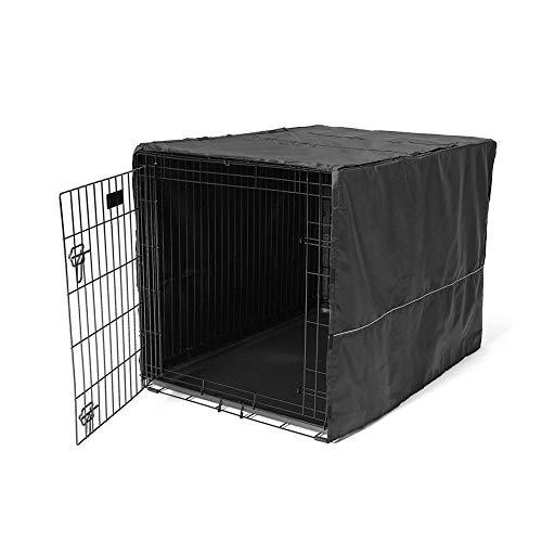 24-zoll-grill (Abdeckhauben Möbelabdeckung Haustier Hundekäfig Kann Angepasst Werden Multi-Größe, Schwarz (Size : 24inch))