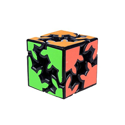 Wings of wind - Gear Cube 2x2x2 Neue Art Magic Cube, Speed Gear Cube Bildung Puzzle Cube (Schwarz)