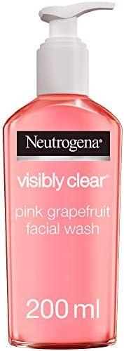 Neutrogena, Facial Wash, Visibly Clear, Pink Grapefruit, 200ml